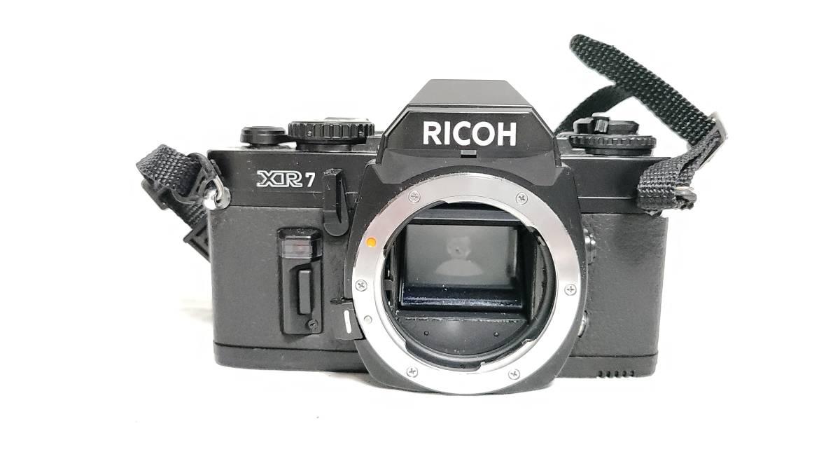 送料無料♪動作品【ricohフィルムカメラ/レンズ】リコー XR7+ RIKENON (リケノン) P 1:2 (f2) 50mm レンズ_画像3