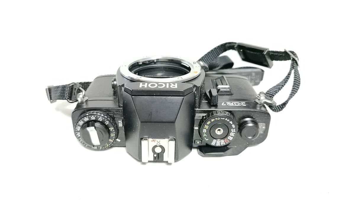 送料無料♪動作品【ricohフィルムカメラ/レンズ】リコー XR7+ RIKENON (リケノン) P 1:2 (f2) 50mm レンズ_画像4