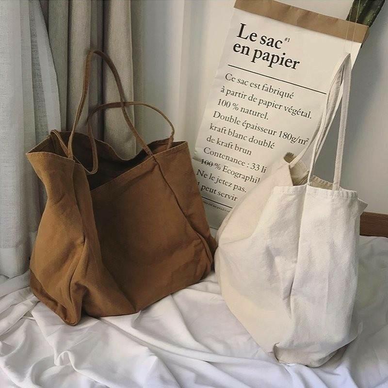 トートバッグ レディース バッグ エコバッグ キャンバス 鞄 手提げ 大きめ
