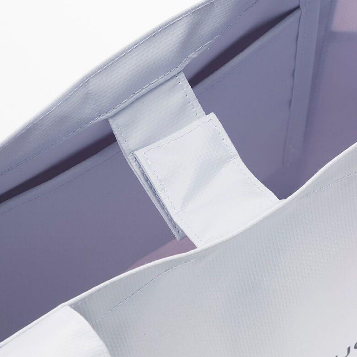 DEAN&DELUCA エコバッグ 京都限定カラー紫&ブラック&トートS