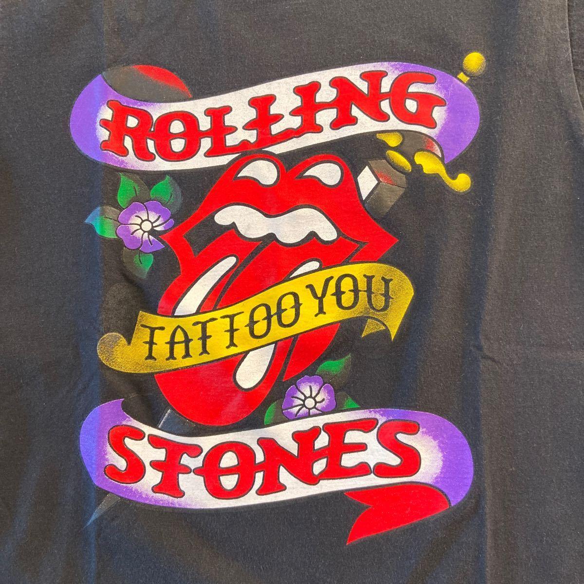 ローリングストーンズ TATTOO YOU ロックTシャツプリントTシャツ 半袖Tシャツ バンドTシャツ
