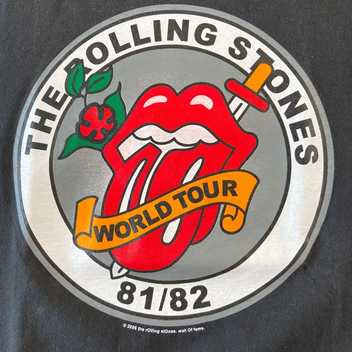 ローリングストーンズ TATTOO YOU ツアー ロックTシャツ バンドTシャツ 1981年