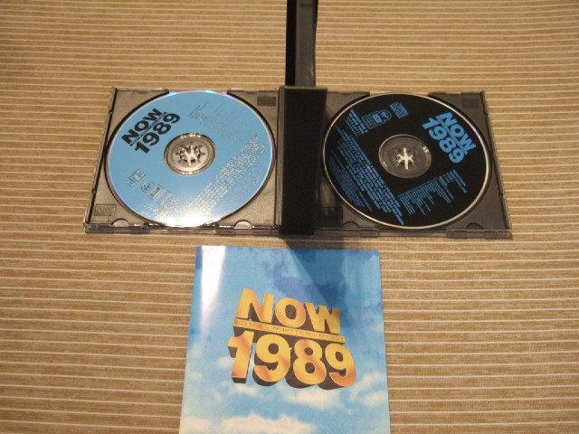 CD2枚組 Now That's What I Call Music 1989 Simply Red Chaka Khan Bobbu Brown Paula Abdul Phill Collins Bangles Texas Richard Marx