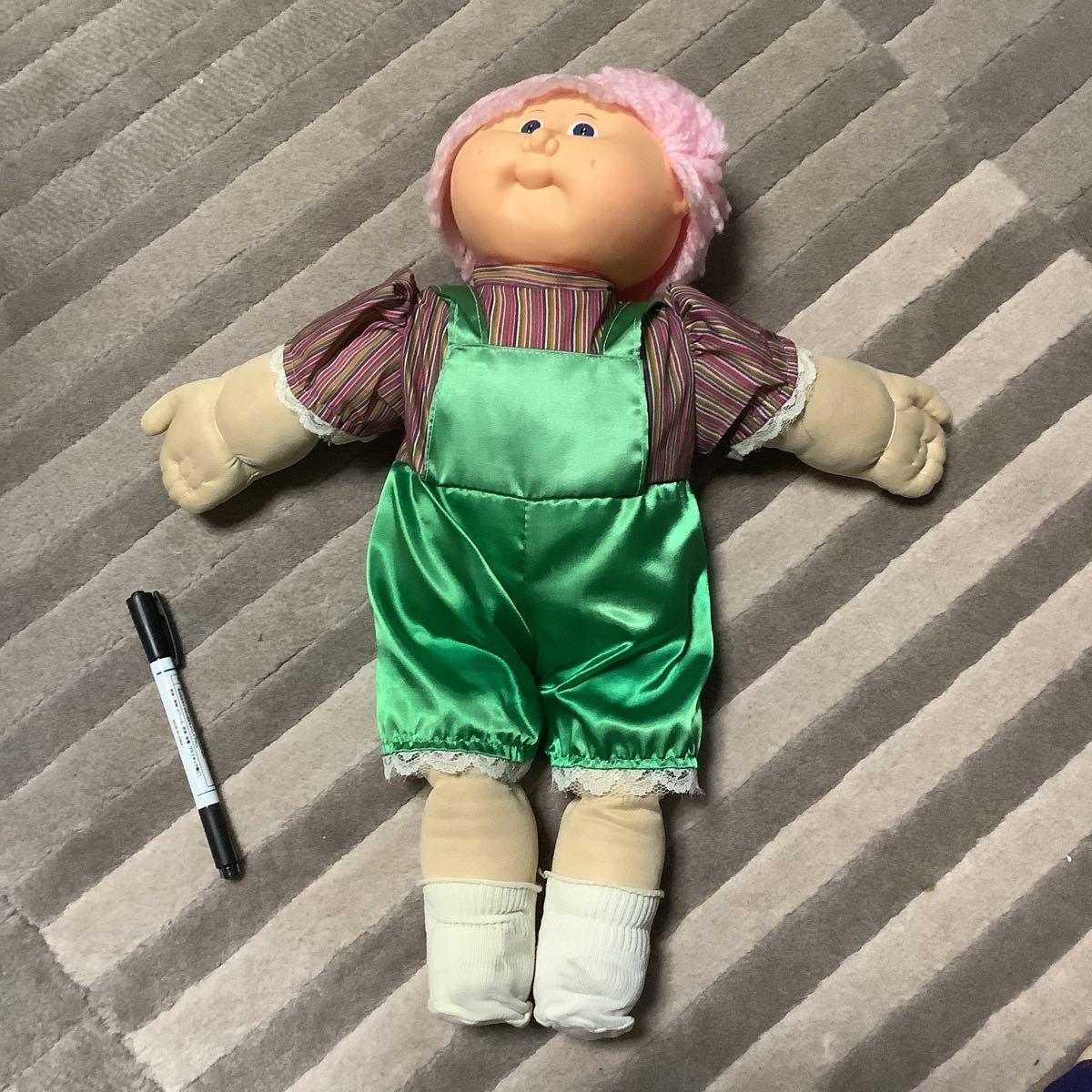 レア キャベツ人形 キャベツ畑人形 キャベッジパッチキッズ フィギュア ビンテージ アンティーク 着せ替え人形 ぬいぐるみ レトロ doll