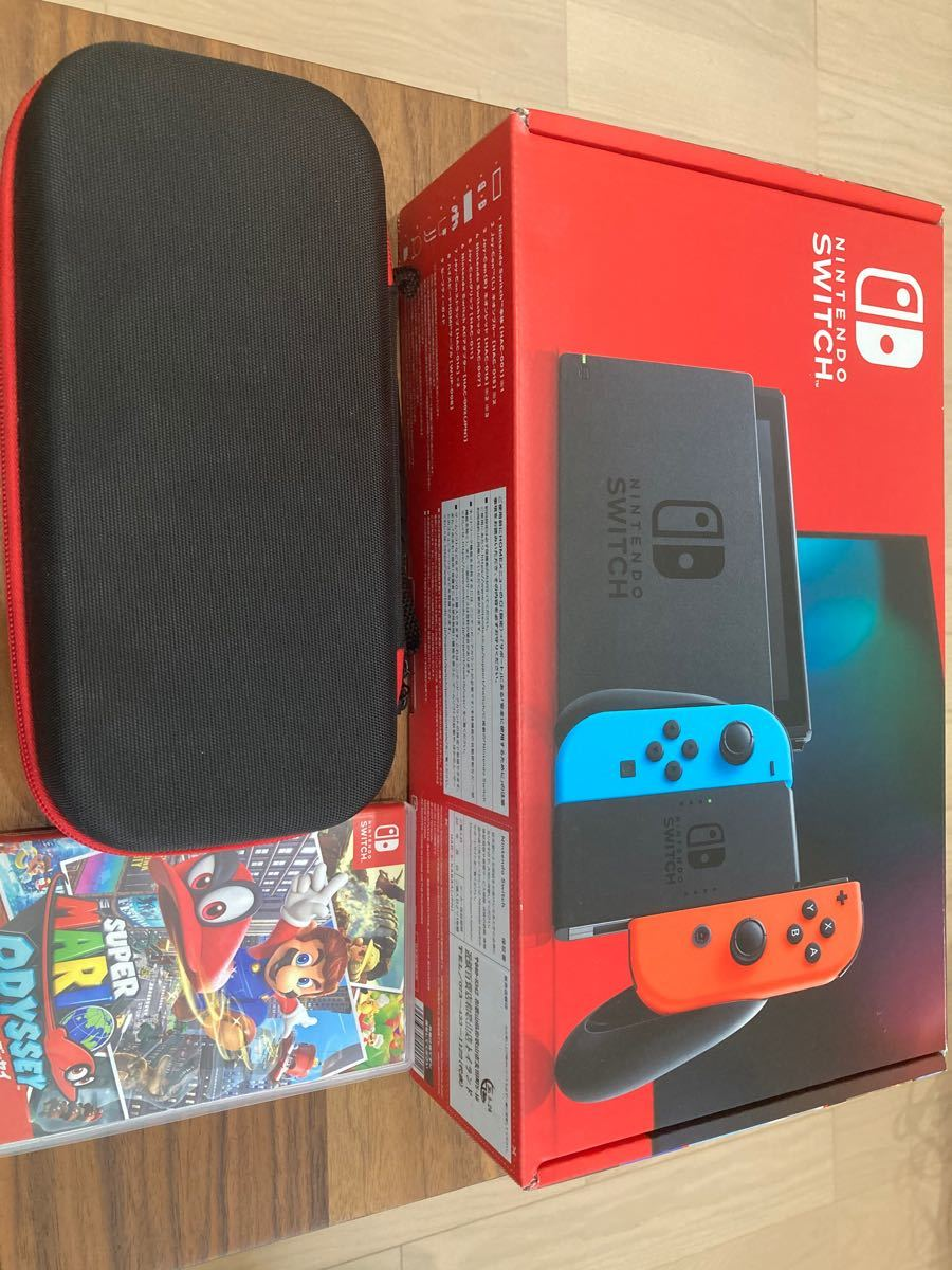 Nintendo Switch ネオンブルー ネオンレッド 任天堂