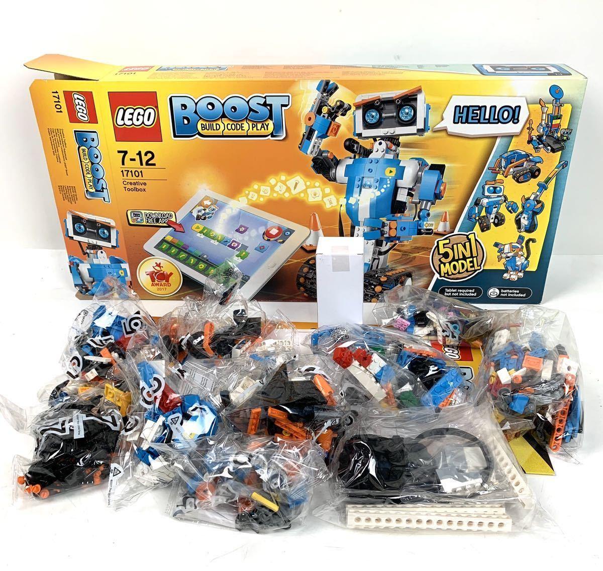 ●未使用品 LEGO 7-12 17101 BOOST レゴ ブースト Creative TOOLBOX●_画像3