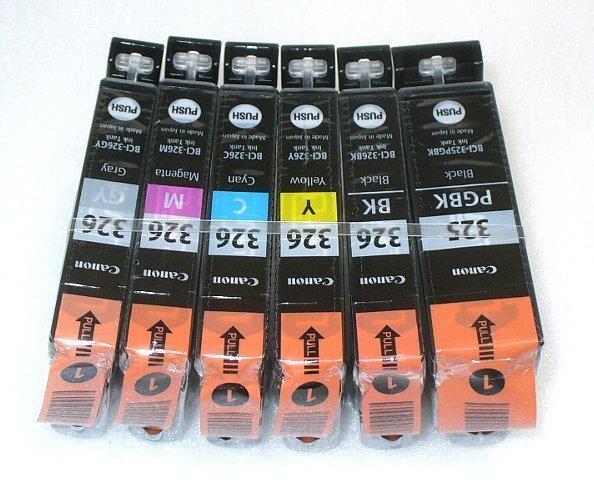 キャノン純正インクカートリッジ BCI-326+325 6色セット (箱なし) QMCP1B03_画像2