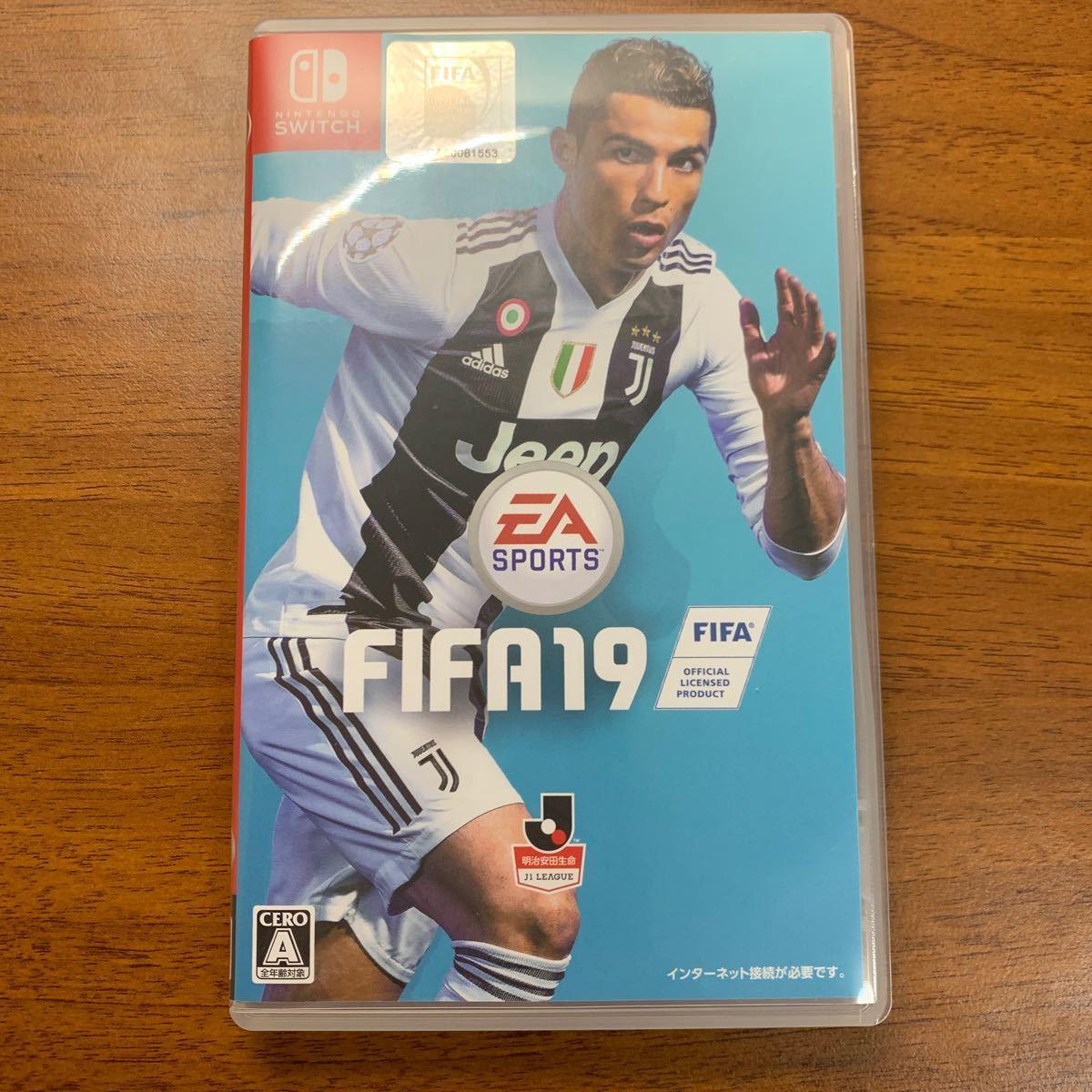 【Switch】 FIFA 19 [STANDARD EDITION]
