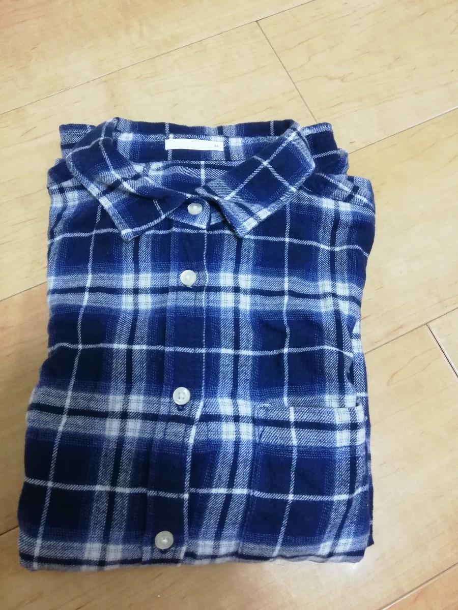 お値下げしました! チェックシャツ チェック柄 ネルシャツ レディース