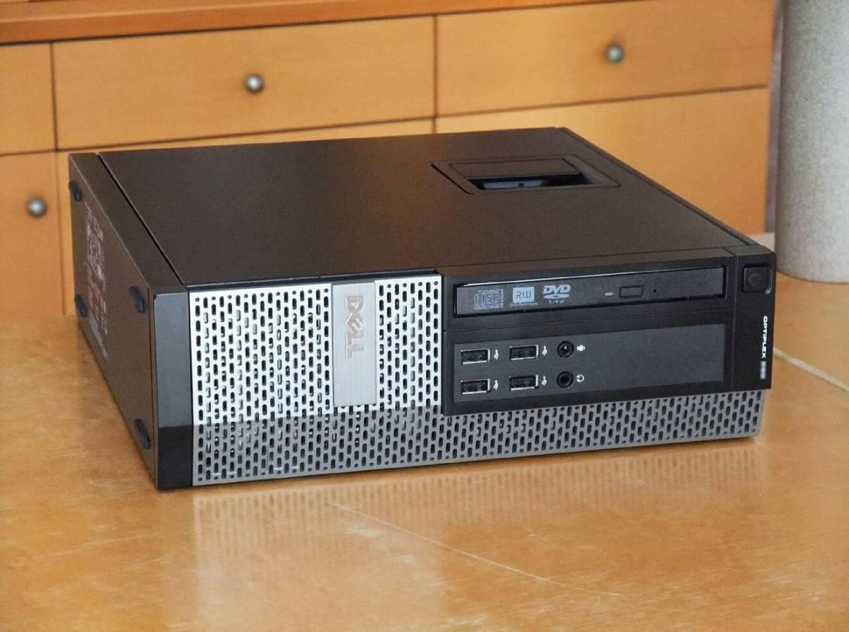 ◆超高速 i7-3770 3.9Gx8/超大容量32Gメモリ/新品SSD960G+HD2TB/USB3.0/無線LAN(WI-FI)/Win10/Office2019/税不要/領収証可/Optiplex7010_画像3