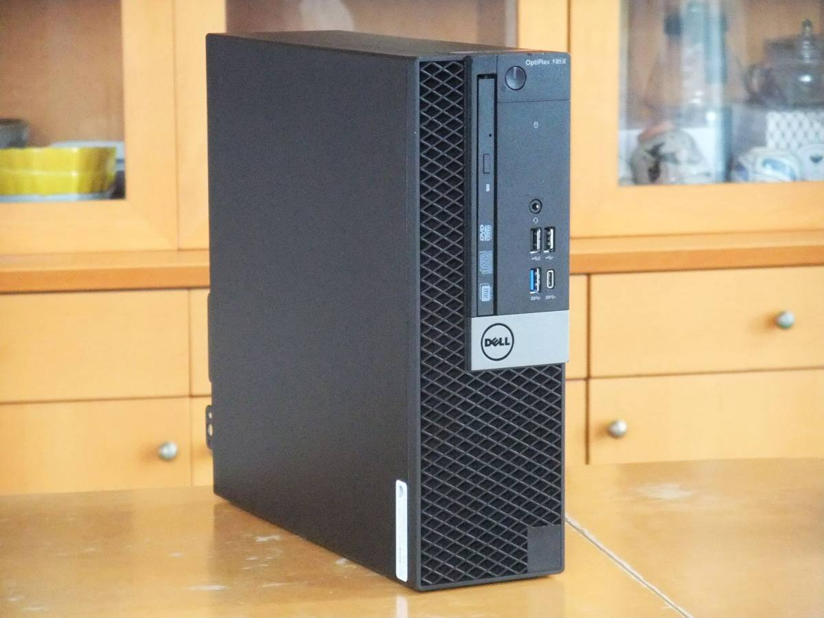 ★i7-6700K 4.2Gx8/超大容量64Gメモリ(DDR4)/新品SSD1TB/HDD4TB/Office2019/Wi-Fi(無線LAN)/Win10/USB3.0/税不要/領収証可/Optiplex7050_画像1