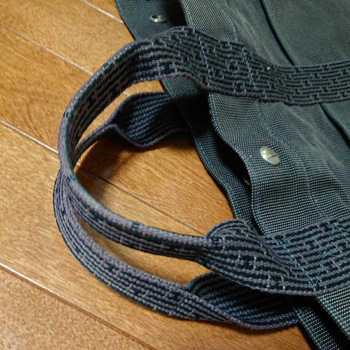 エルメス エルメスエールライン トートバッグ フールトゥ HERMES バッグ 男女兼用 ビジネスカバン 鞄 かばん 黒 ブラック_画像5