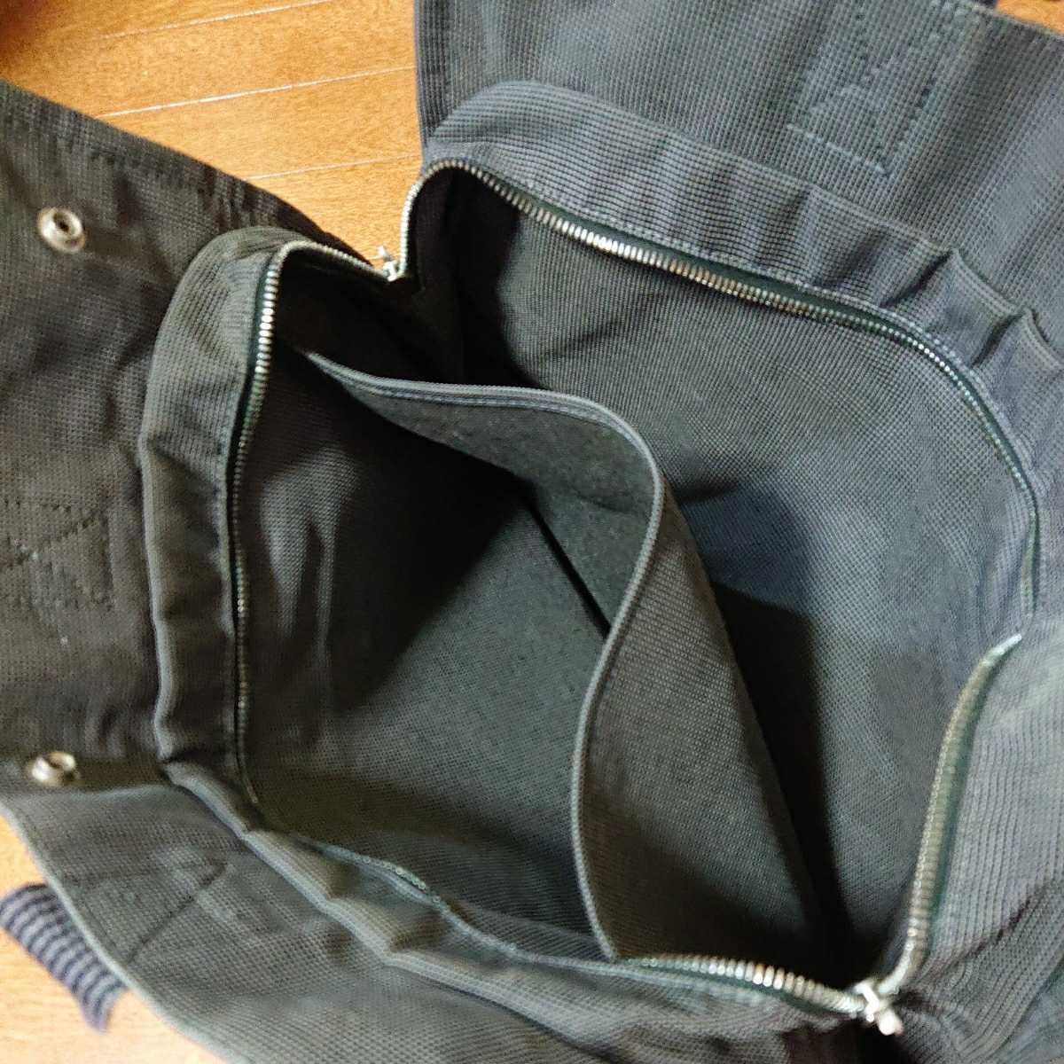 エルメス エルメスエールライン トートバッグ フールトゥ HERMES バッグ 男女兼用 ビジネスカバン 鞄 かばん 黒 ブラック_画像10