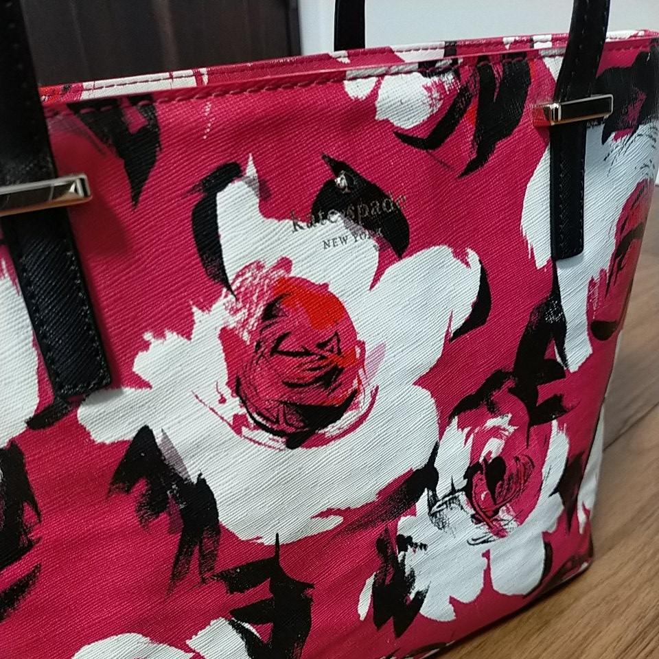【美品】kate spade ケイトスペード ハンドバッグ トートバッグ