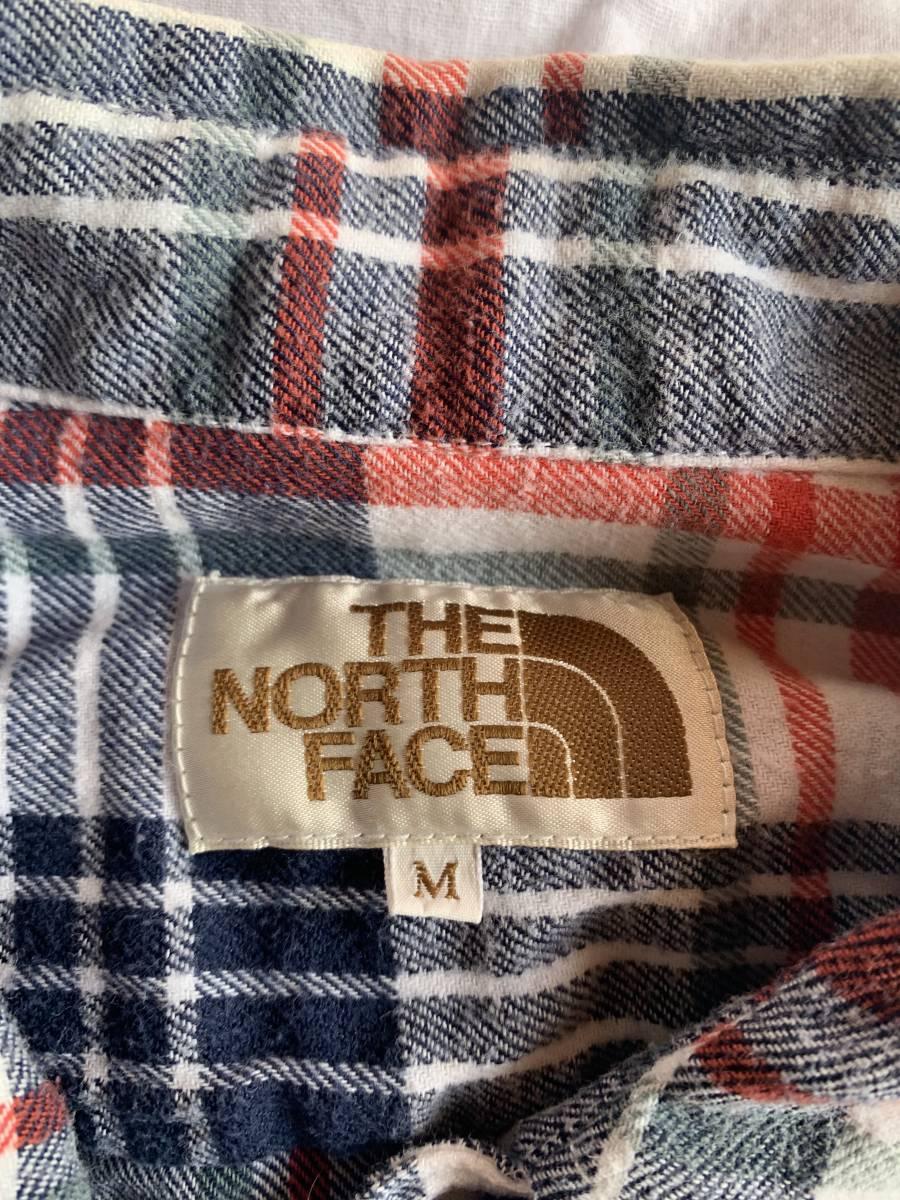 THE NORTH FACE ザ・ノース・フェイス 長袖シャツ ネルシャツ M