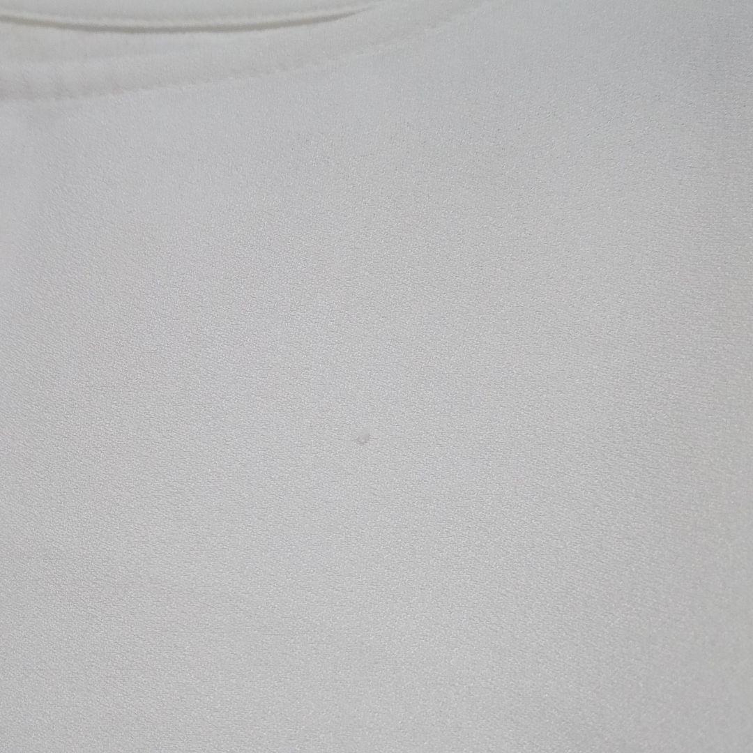 ブラウス トップス カットソー 七分袖 白 Mサイズ 刺繍
