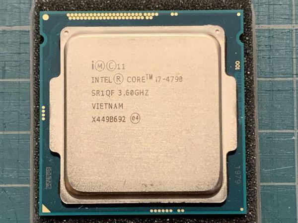 Intel Core i7 - 4790 + 4枚組 メモリ PC3-12800 32GB!!!!