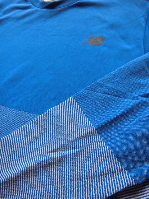 未使用品★ニューバランス new balance トレーニングシャツ マックスインテンシティ シームレスロングス XL★