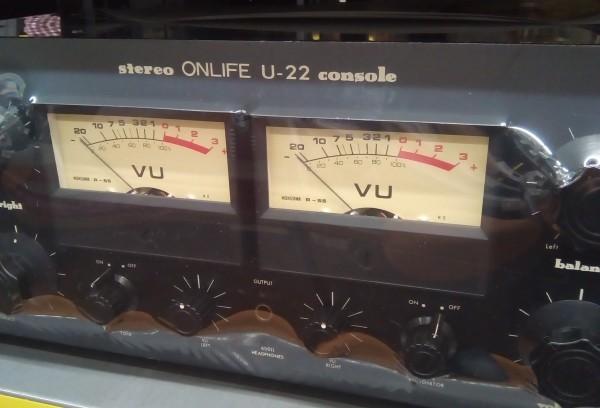 ★((3カ月保証))★ ONLIFE オンライフリサーチ U-22 真空管プリアンプ ブラック 音の良い逸品! 名機! 魅惑のテレフンケン!(鶴)_画像2