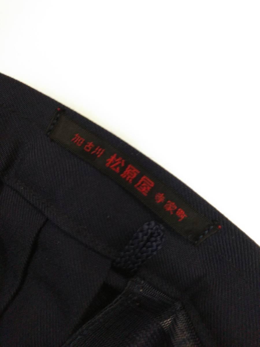 コスプレ衣装 冬服 スクールスカート 女子制服 プリーツ 紺 中古 中学 高校_画像3