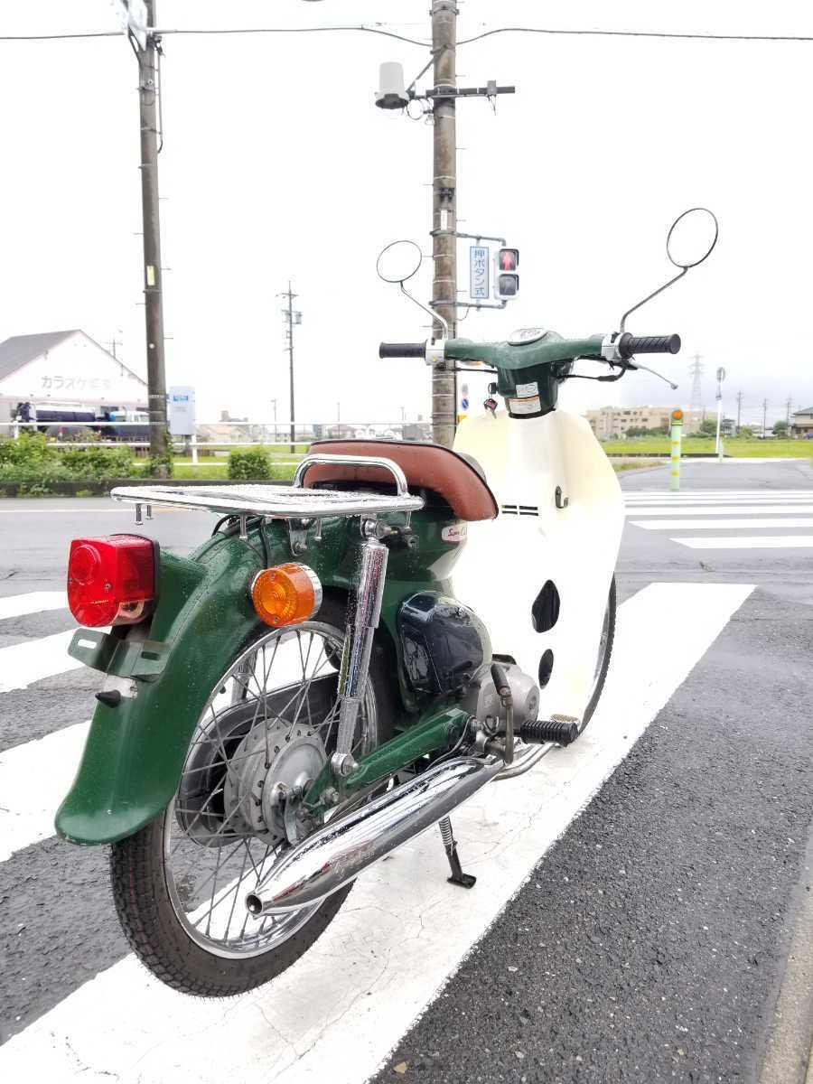 「愛知県より スーパーカブ50 AA01型 セルなし3速キャブ車 即戦力車両 2」の画像3