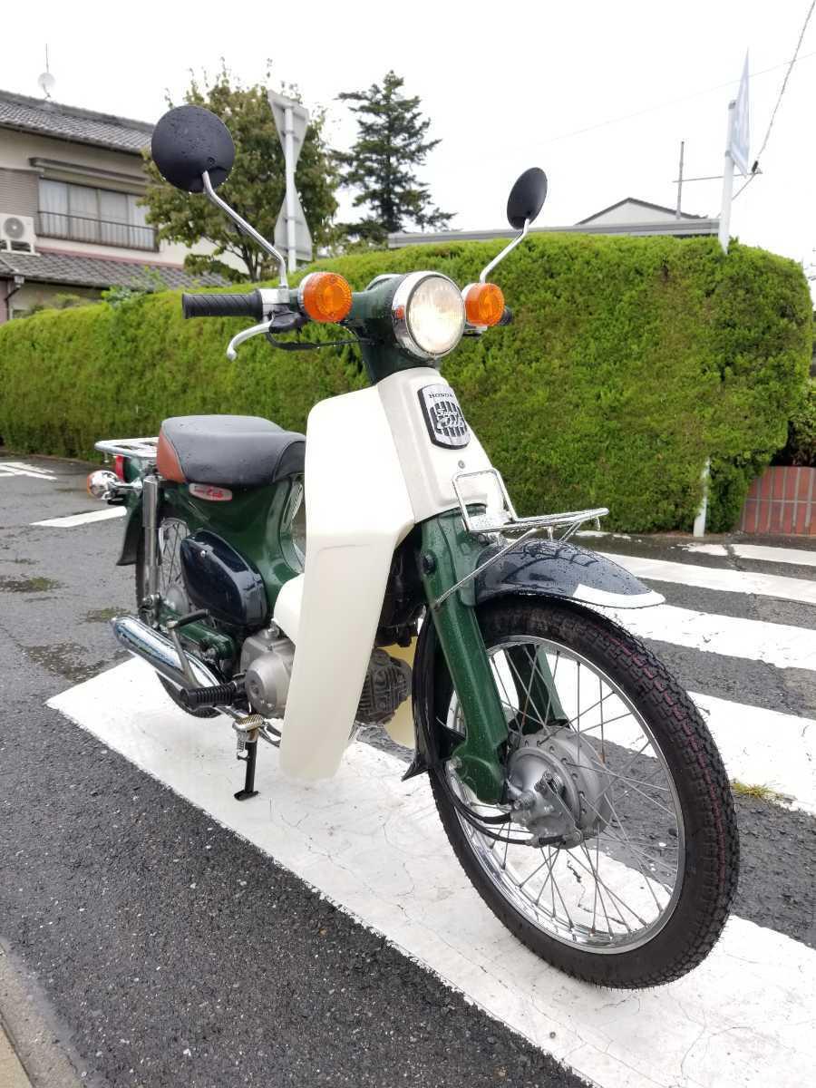 「愛知県より スーパーカブ50 AA01型 セルなし3速キャブ車 即戦力車両 2」の画像1