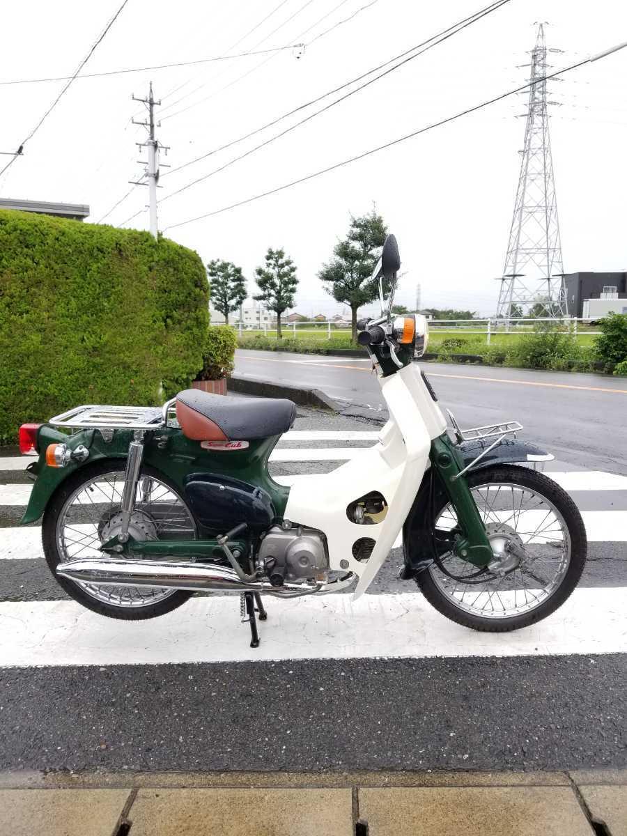「愛知県より スーパーカブ50 AA01型 セルなし3速キャブ車 即戦力車両 2」の画像2