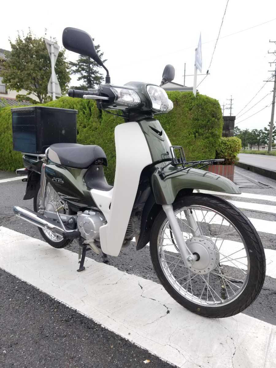 「愛知県より スーパーカブ50 AA04型インジェクション セル付き4速 即戦力車両 3」の画像1