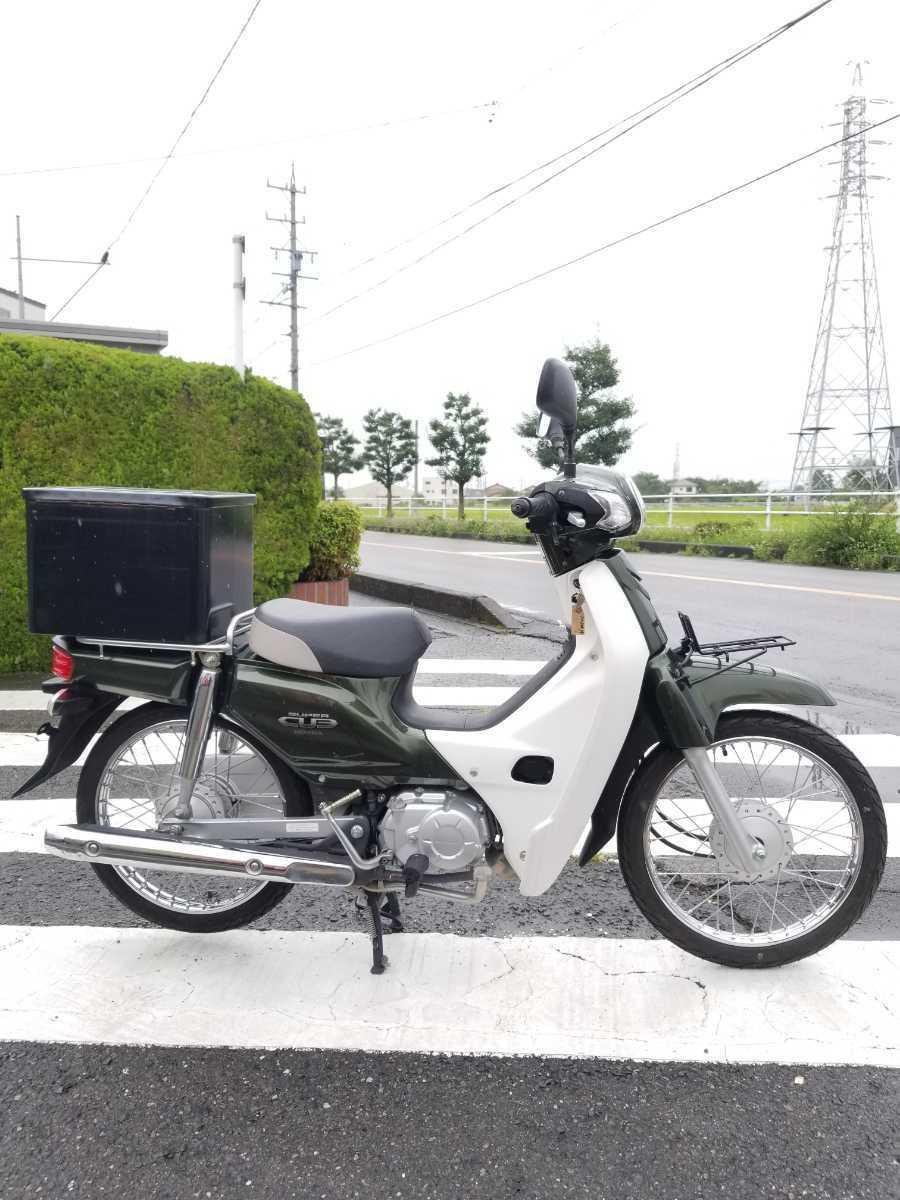 「愛知県より スーパーカブ50 AA04型インジェクション セル付き4速 即戦力車両 3」の画像2