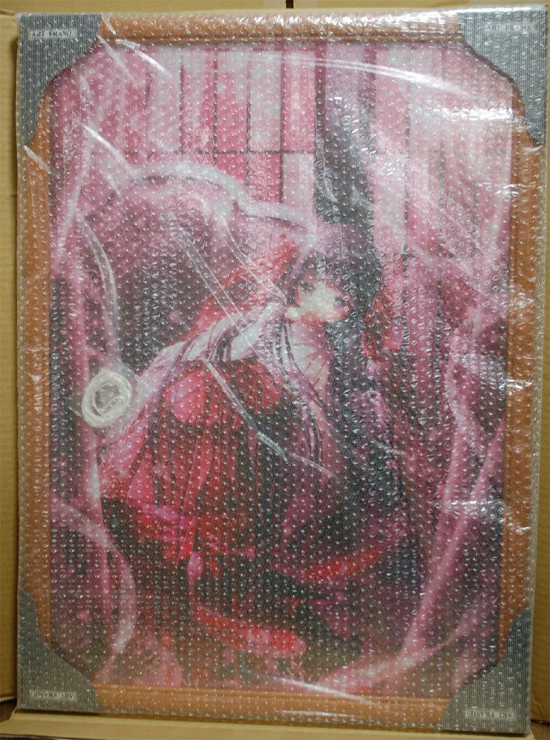 絵師100人展 06 複製原画 「 てぃんくる 雪消月の砌 」 / てぃんかーべる_画像1