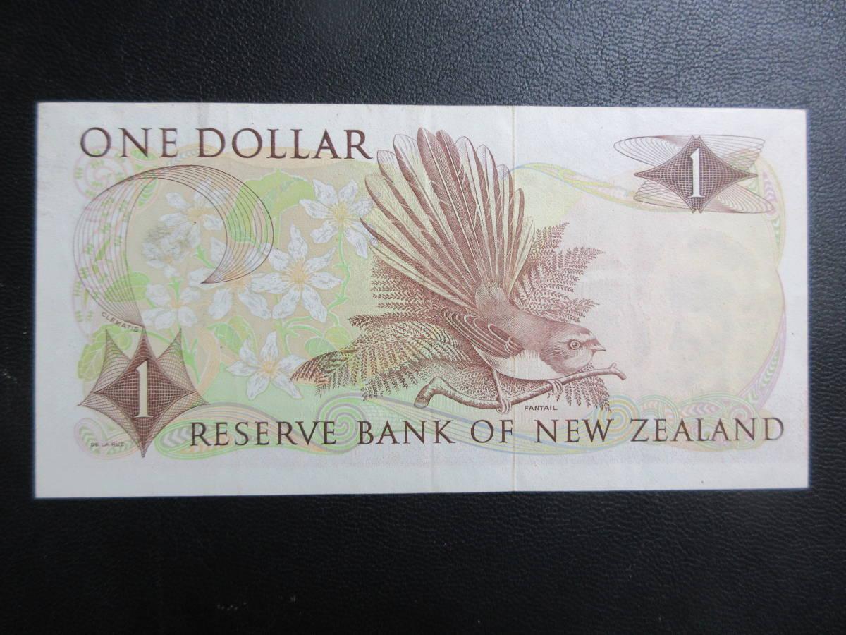 【NZ】1ドル 1968-75年 美品_画像2