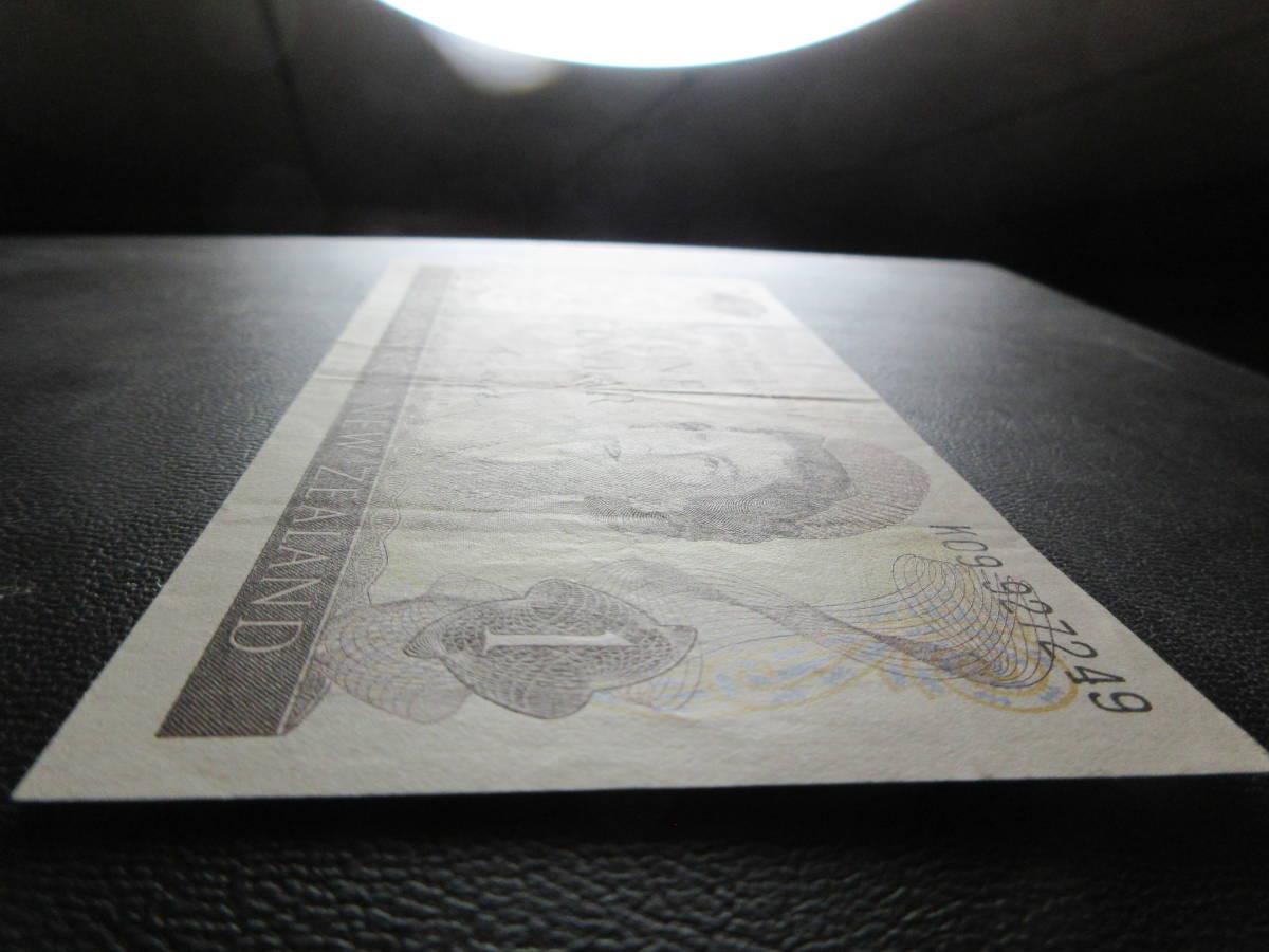 【NZ】1ドル 1968-75年 美品_画像3