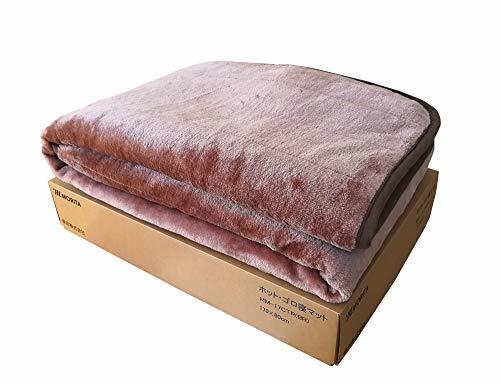 ブラウン シングル ホットゴロ寝マット(ホットカーペット・ホットマット・電気マット・敷きパッド・ソファーカバー)約1畳用 丸洗い_画像3