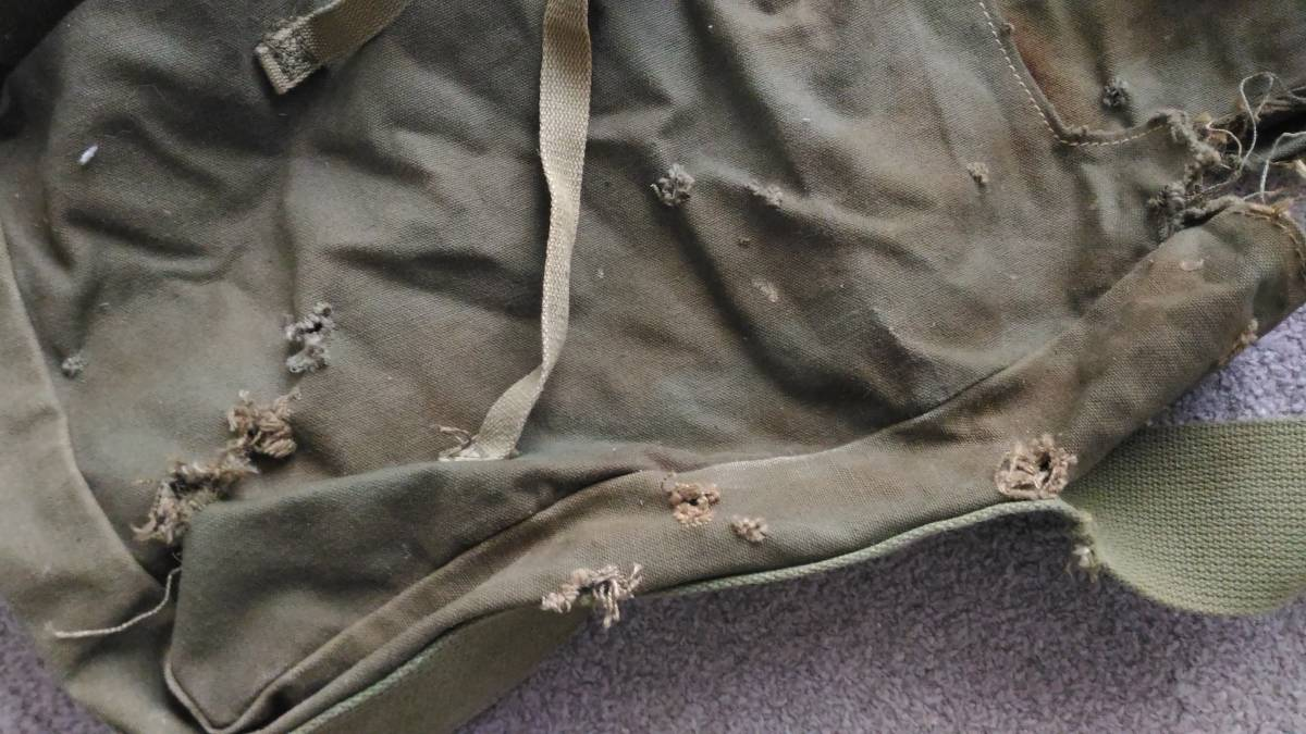 WW2 米軍 デモバック 爆薬梱包袋 ハバーサック M1/M2/M3用_画像4