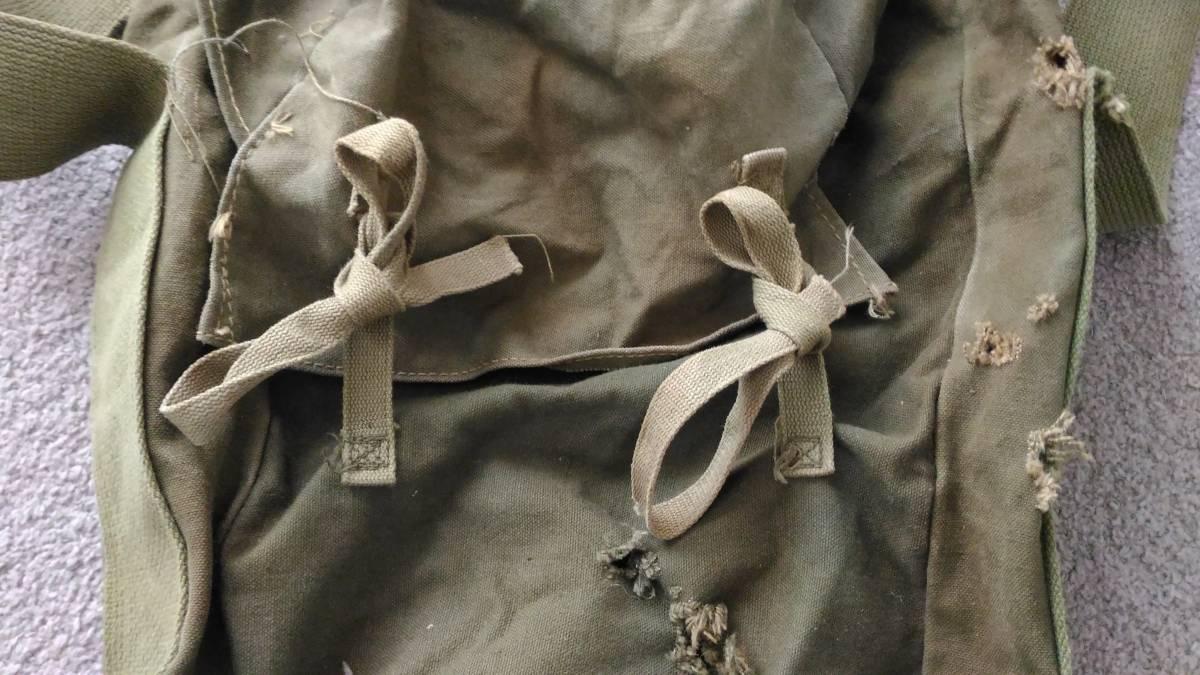 WW2 米軍 デモバック 爆薬梱包袋 ハバーサック M1/M2/M3用_画像5