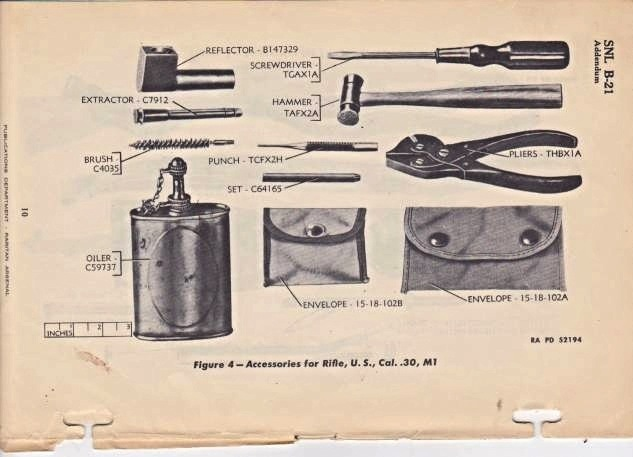 WW2 米軍 30口径小火器用 エキストラクタ 薬莢抜き_画像6