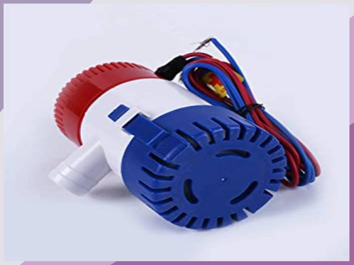 「■限定 お買得 新品 LOOKGOU ビルジポンプ 12V 小型 水中 ポンプ 1100GPH 適応 ホース 内径 28.5 m」の画像3
