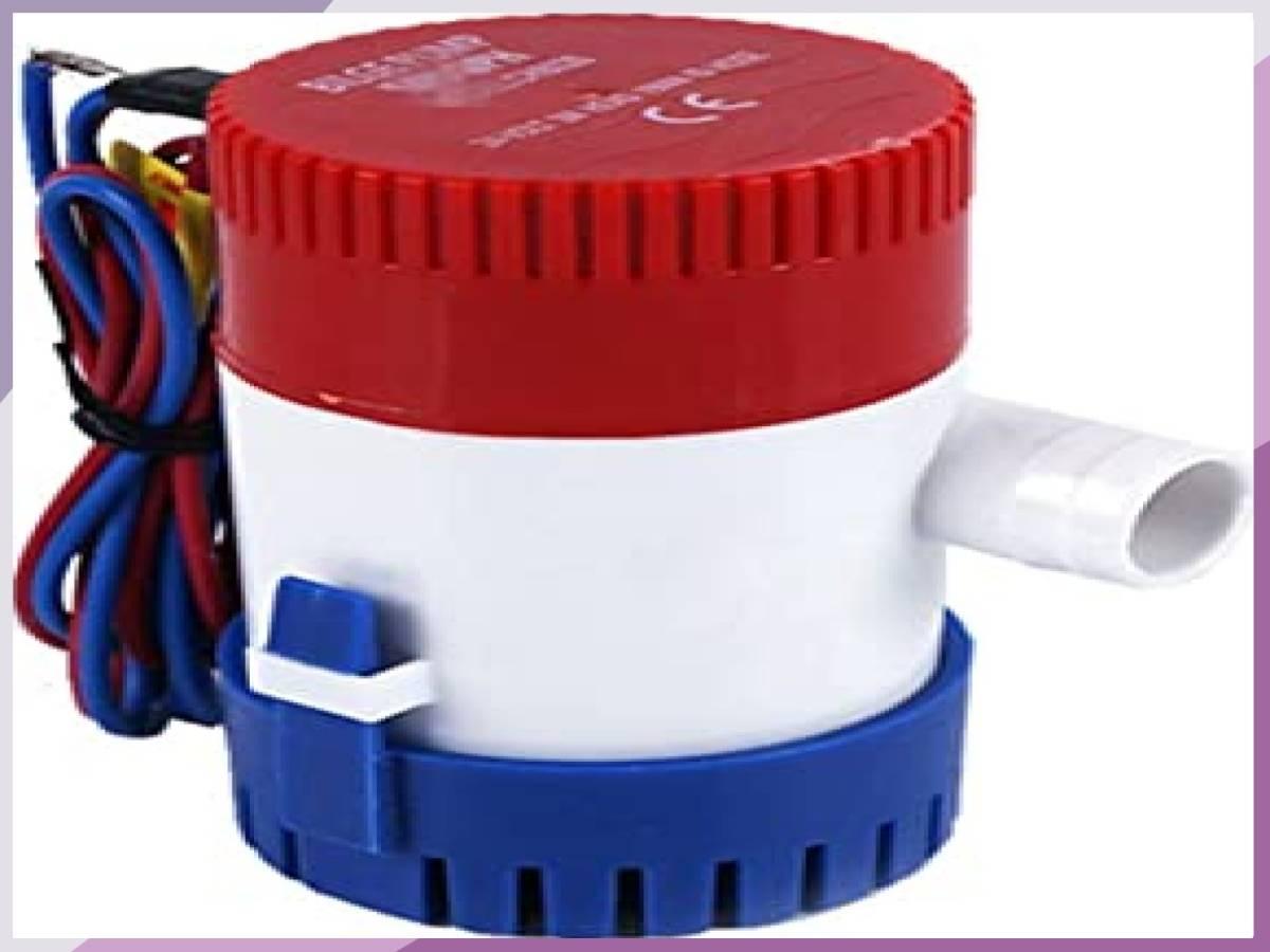 「■限定 お買得 新品 LOOKGOU ビルジポンプ 12V 小型 水中 ポンプ 1100GPH 適応 ホース 内径 28.5 m」の画像1