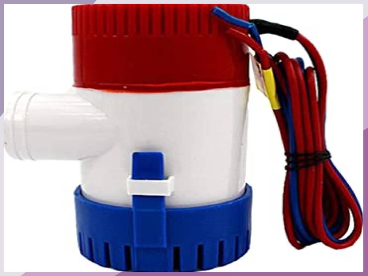 「■限定 お買得 新品 LOOKGOU ビルジポンプ 12V 小型 水中 ポンプ 1100GPH 適応 ホース 内径 28.5 m」の画像2