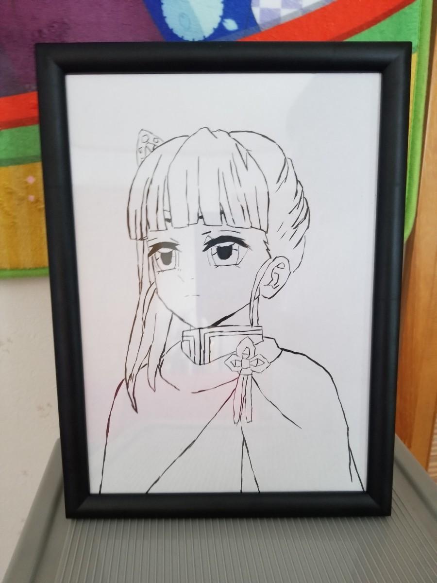 鬼滅の刃 栗花落カナヲ イラスト