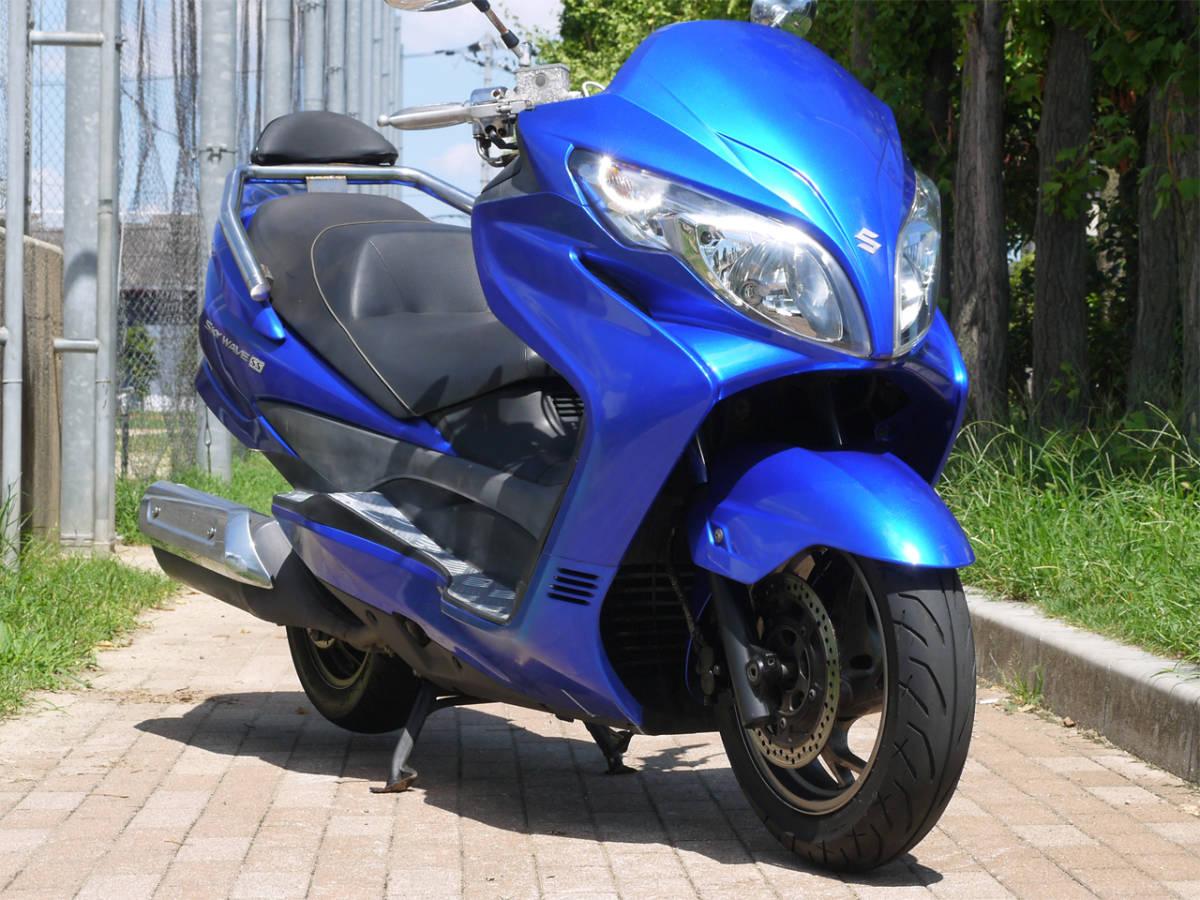 「(大阪より) スカイウェイブ スカイウェーブ (CJ46A)!タイプSS!メタリックブルー!」の画像2