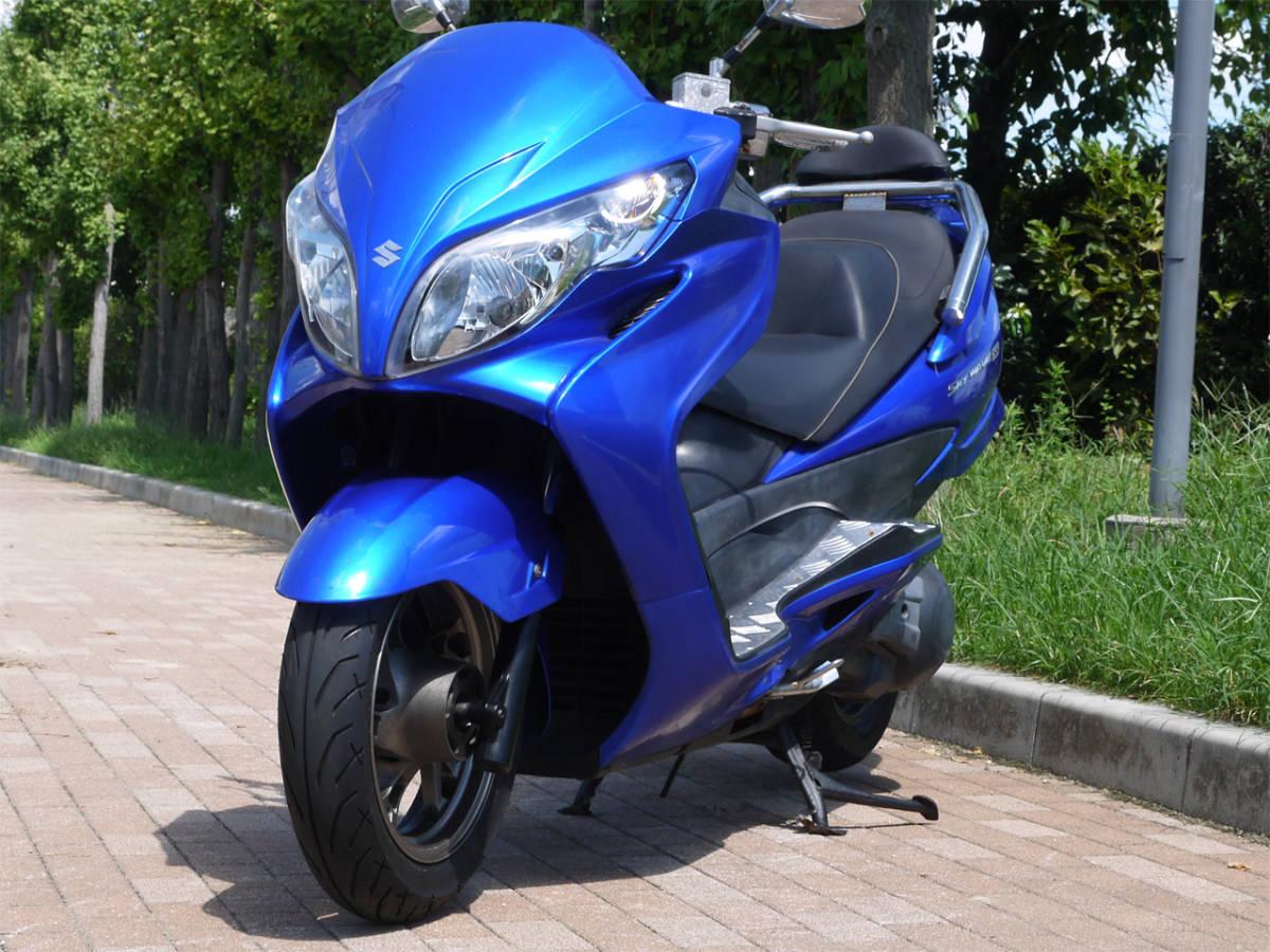 「(大阪より) スカイウェイブ スカイウェーブ (CJ46A)!タイプSS!メタリックブルー!」の画像1
