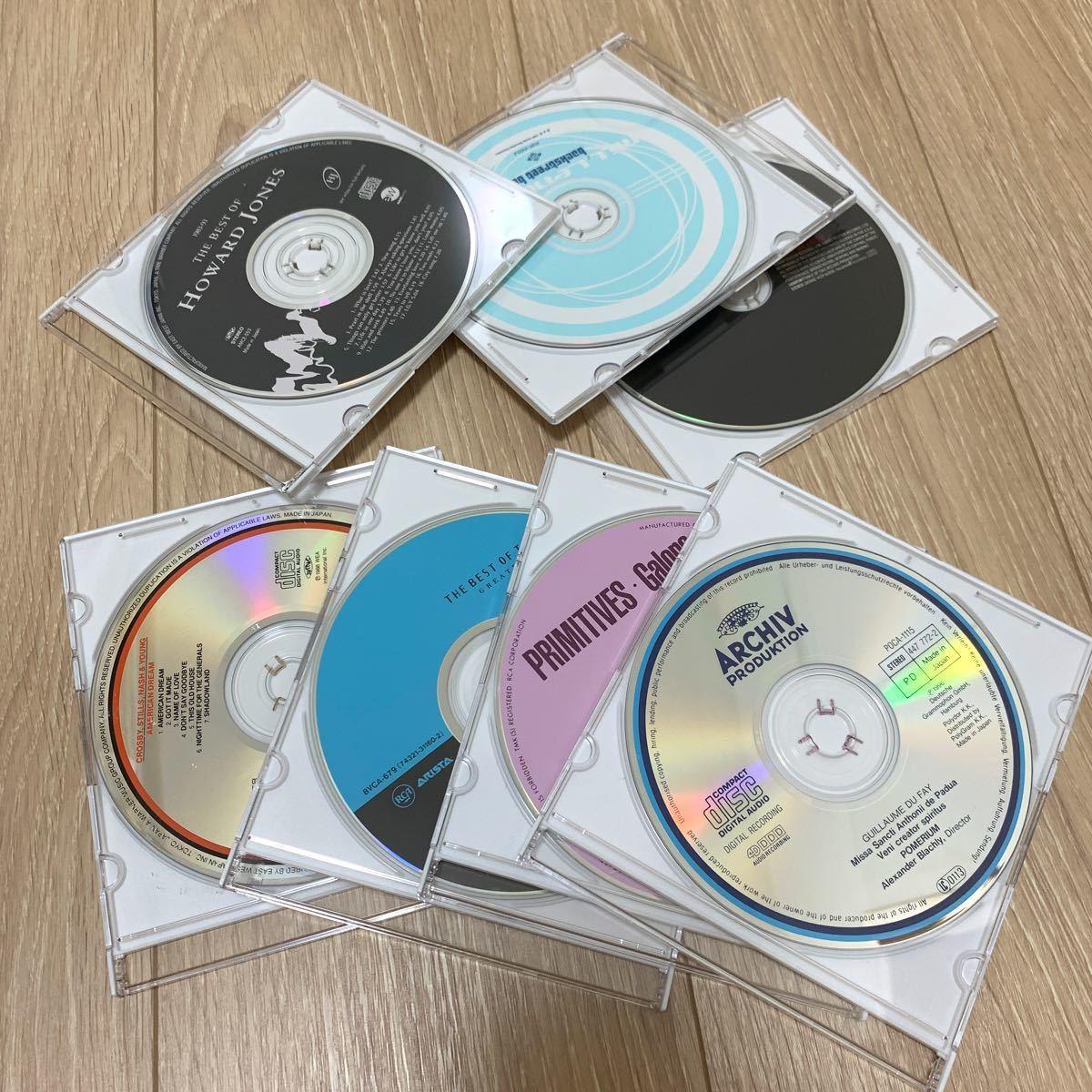 洋楽 CD 7枚セット アルバム 歌詞カードなし