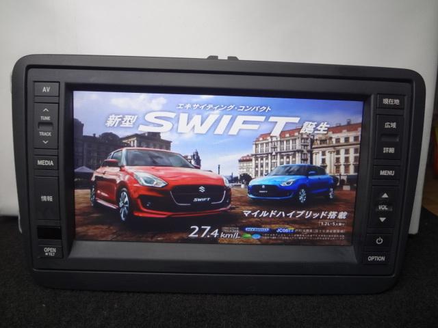 ◎日本全国送料無料 VW純正ワイドSDナビ J1KDC2A16 フルセグTV内蔵 DVDビデオ再生 Bluetooth対応 CD4000曲録音 保証付_画像8