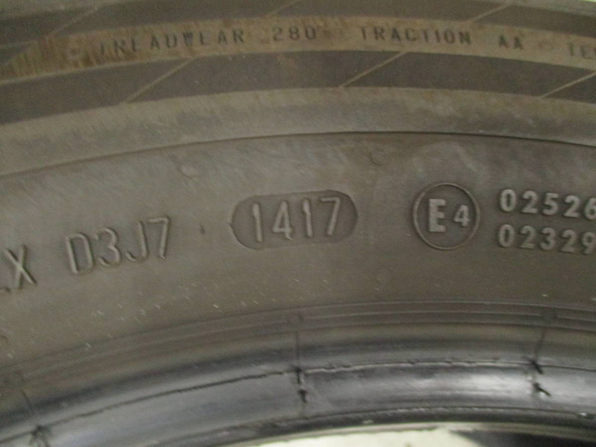 285/45R19 111W 2017年製 センター残り溝5mm コンチネンタル コンチスポーツコンタクト5 SSR ランフラット 中古タイヤ1本_画像5