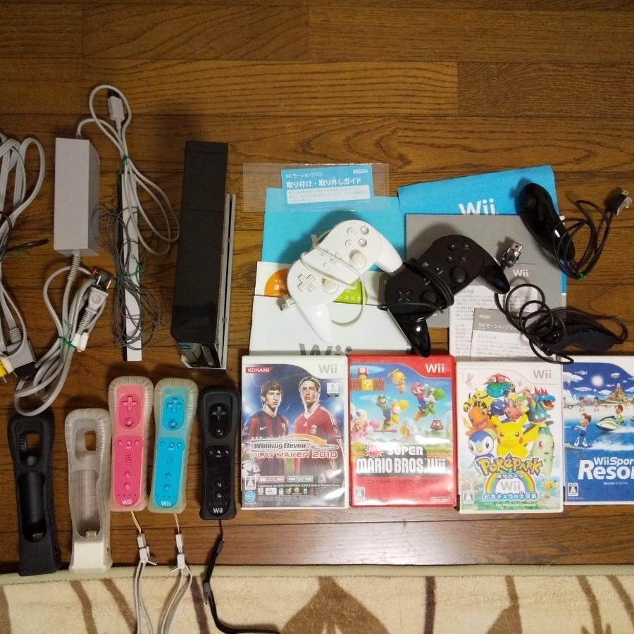 Nintendo Wii  任天堂   本体  リモコン  ソフト