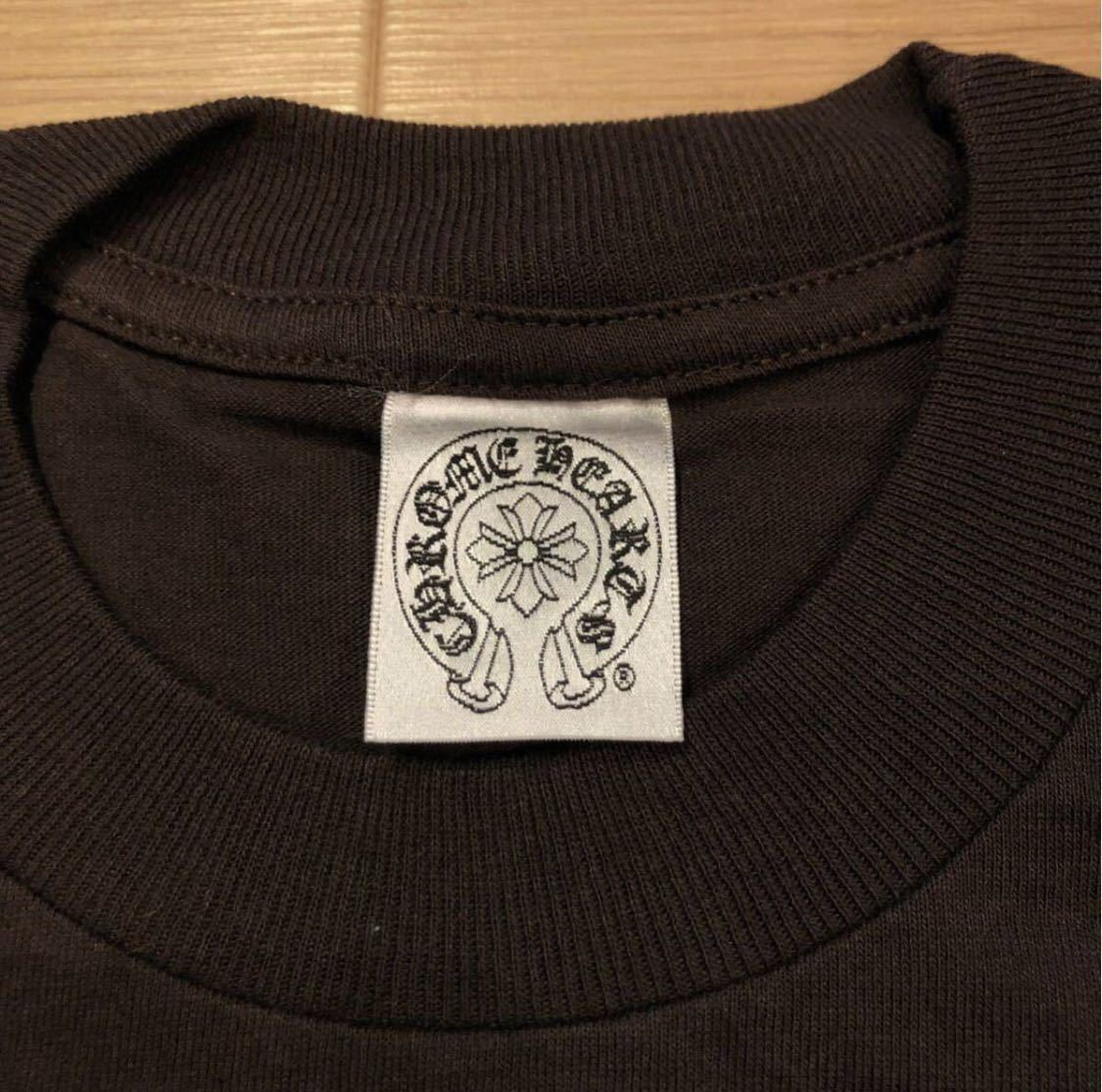 【L】レア 正規品 クロムハーツ インテレクチュアルギャラリー CHROME HEARTS Intellectual Gallery 限定 Tシャツ ポケT USA 5169_画像5