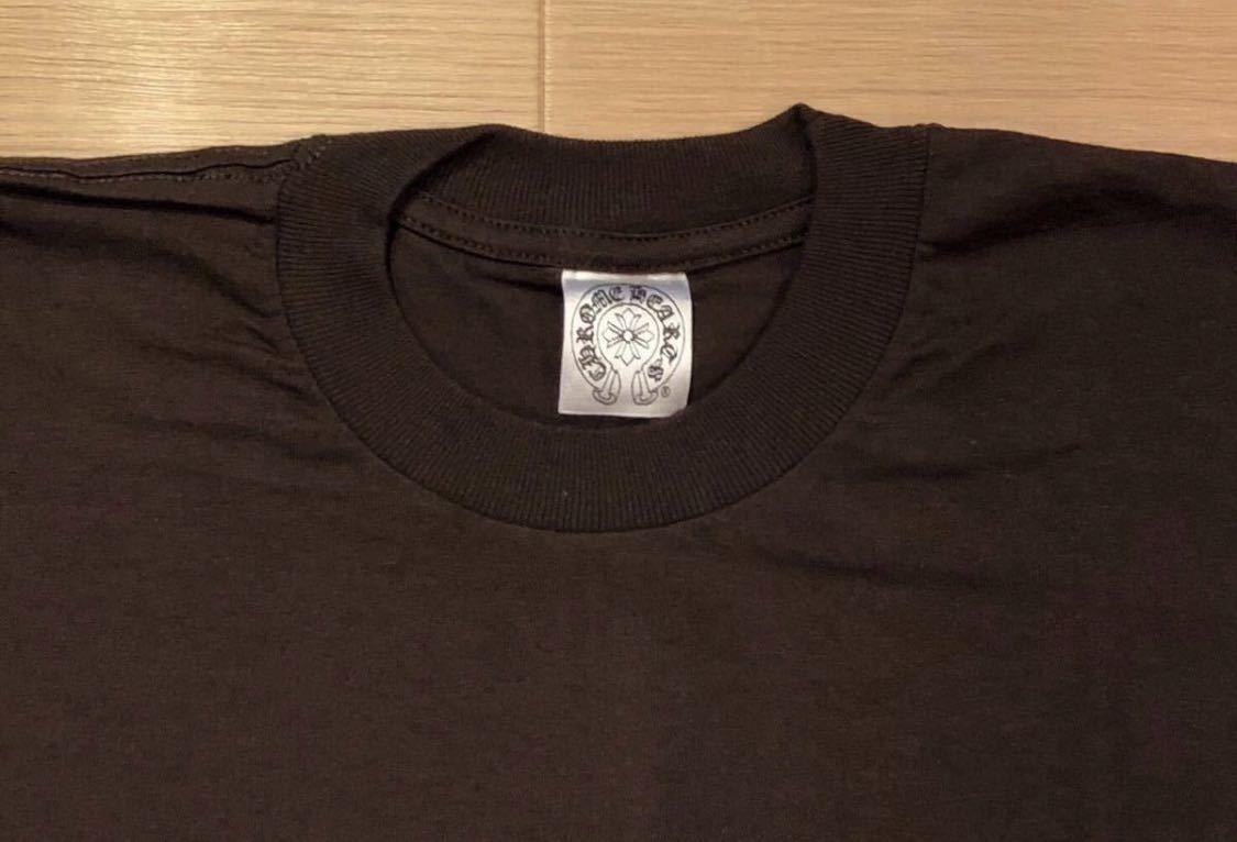 【L】レア 正規品 クロムハーツ インテレクチュアルギャラリー CHROME HEARTS Intellectual Gallery 限定 Tシャツ ポケT USA 5169_画像4