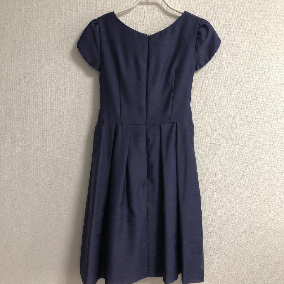 ワンピース ドレス パープル 紫 美品 ストロベリーフィールズ