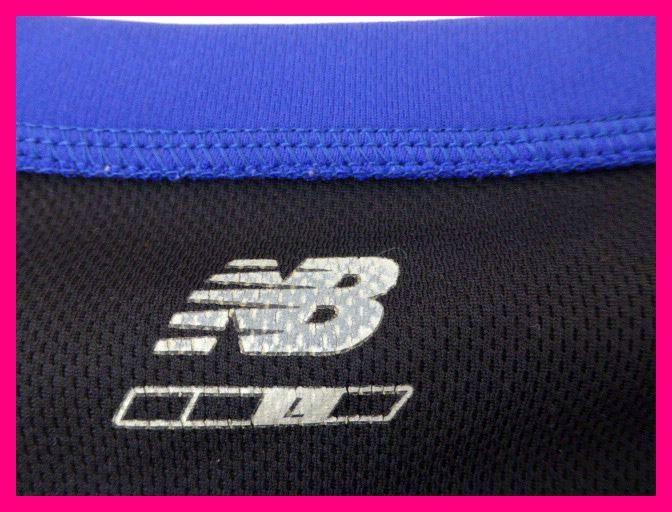 送料無料★第9回湘南国際マラソン・TシャツML ブラック/ブルー ニューバランス/new balance 湘南インターナショナルマラソン9th